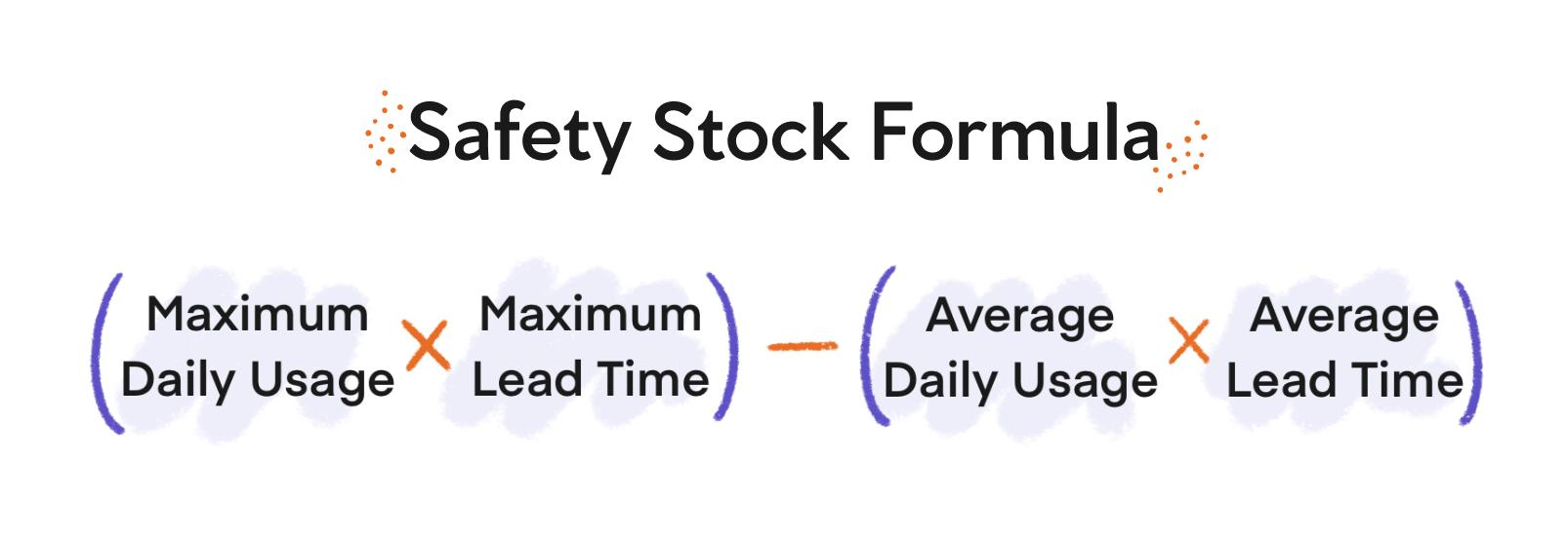 safety stock formula