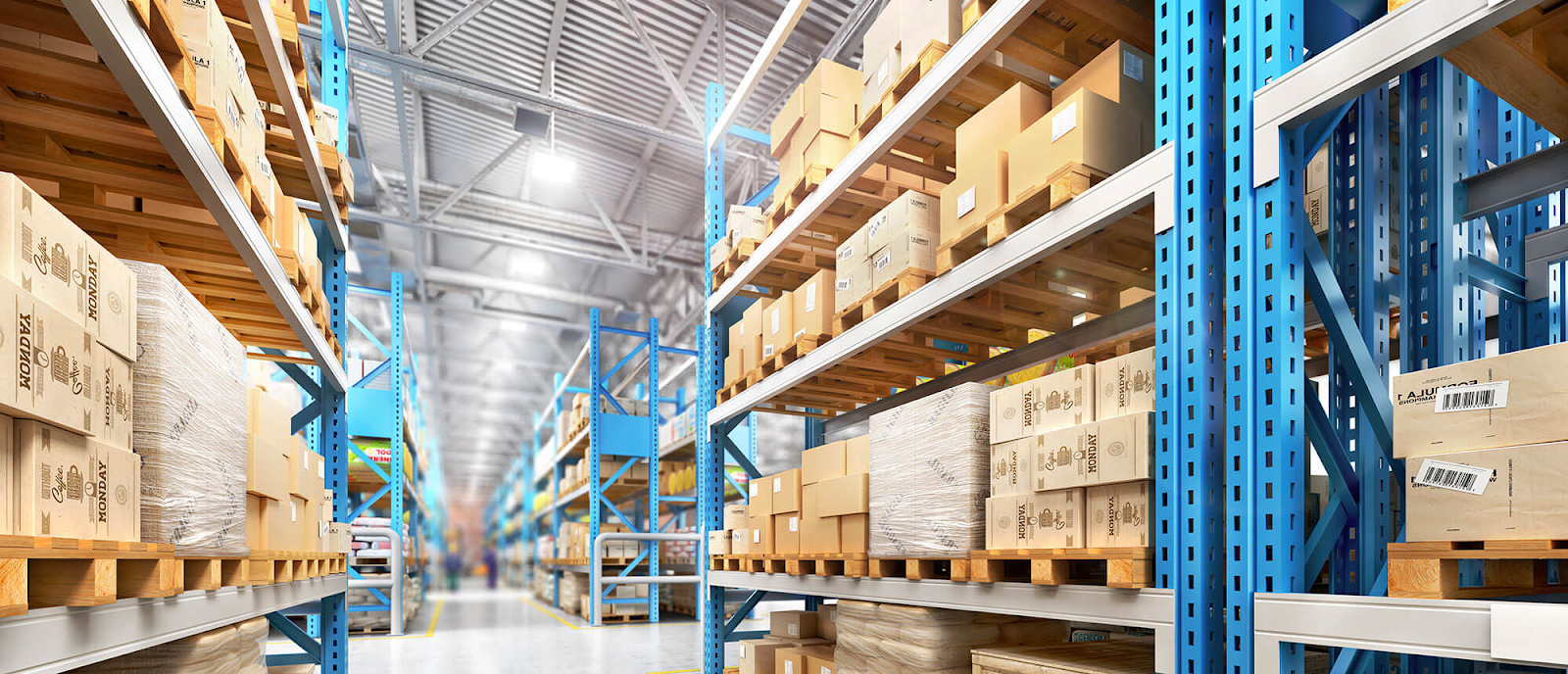 Order fulfillment warehouse