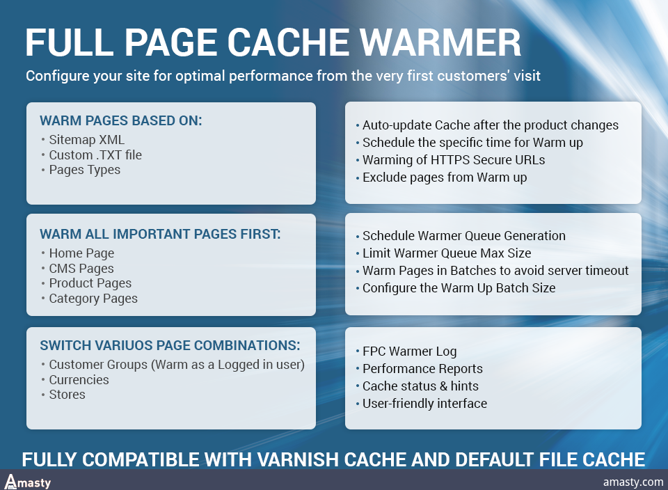 Full Page Cache Warmer extension