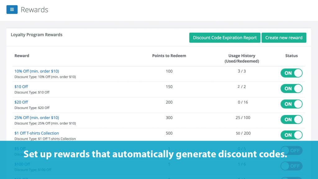 screenshot of S Loyalty homepage