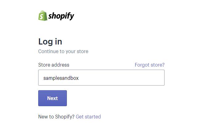 Enter your login credentials