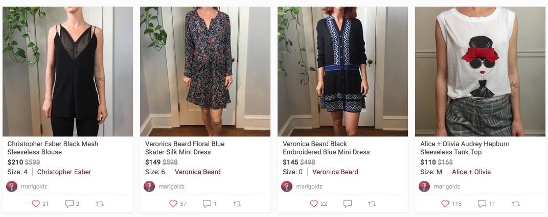 Chelsea Hondros' Poshmark profile with women's fashion