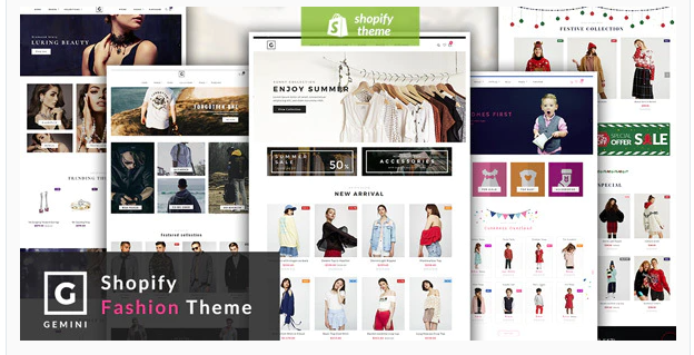 gemini mobile shopify theme screenshot