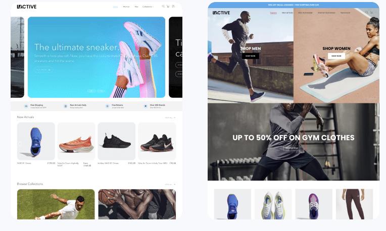 active mobile shopify theme 2021