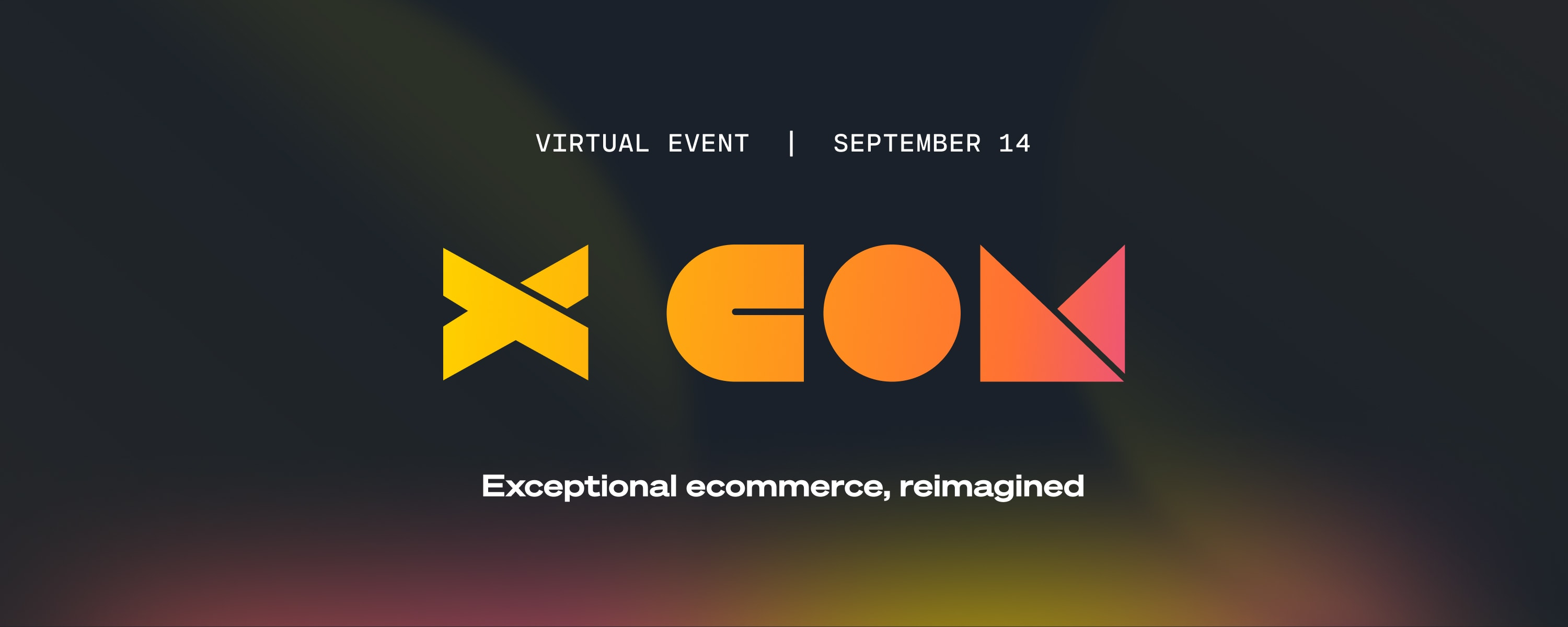 Our September Virtual event, Xperience Commerce