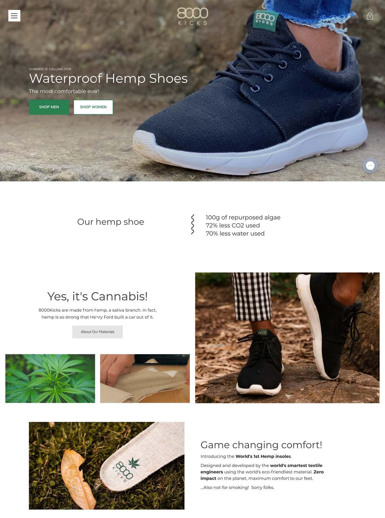 8000kicks homepage waterproof hemp shoes