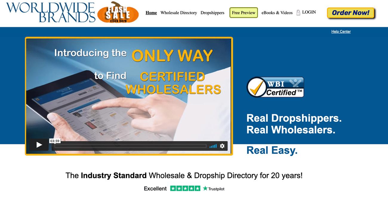 worldwide brands wholesale supplier directory