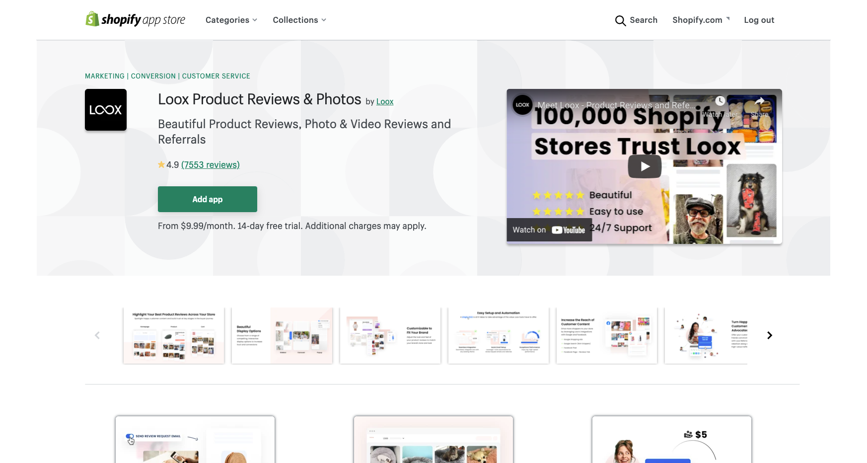 loox best shopify apps