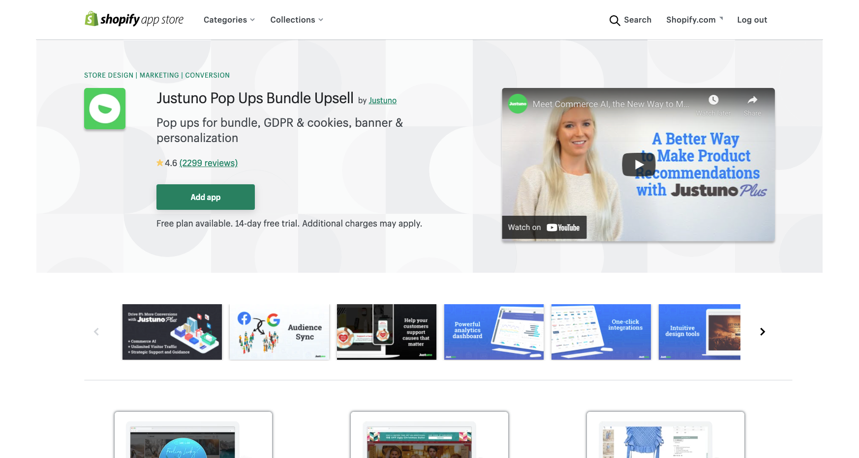 justuno best shopify apps