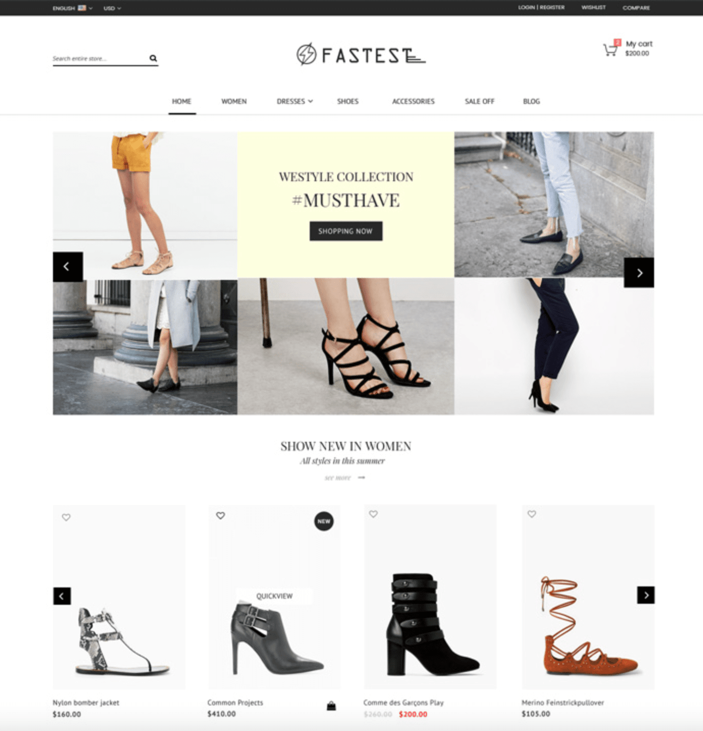 fastest shopify theme clothing brands