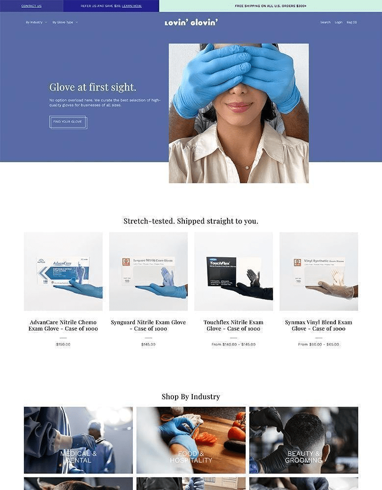 foodie shopify themes beauty