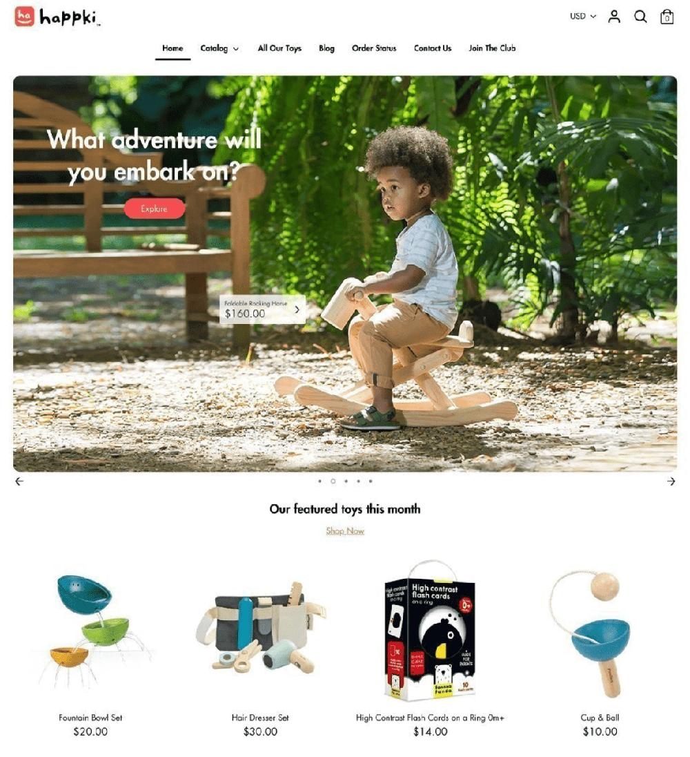 boost shopify theme kids childrens brands