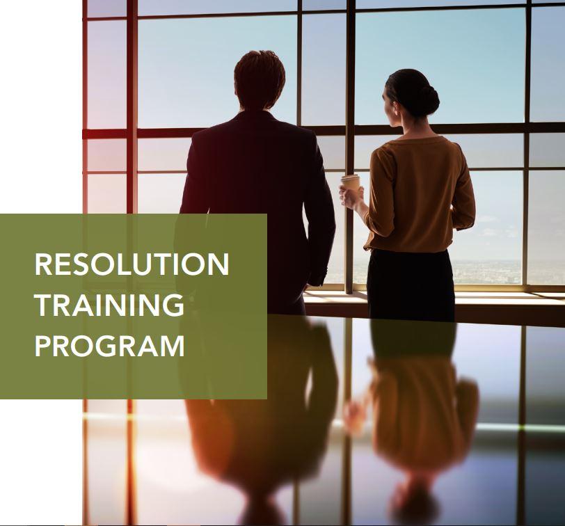 Resolution Training