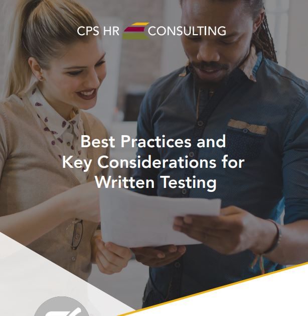 Best Practices and Key Considerations for  Written Testing