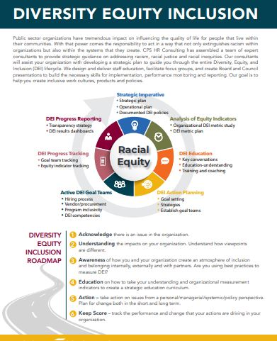 Diversity, Equity and Inclusion Services