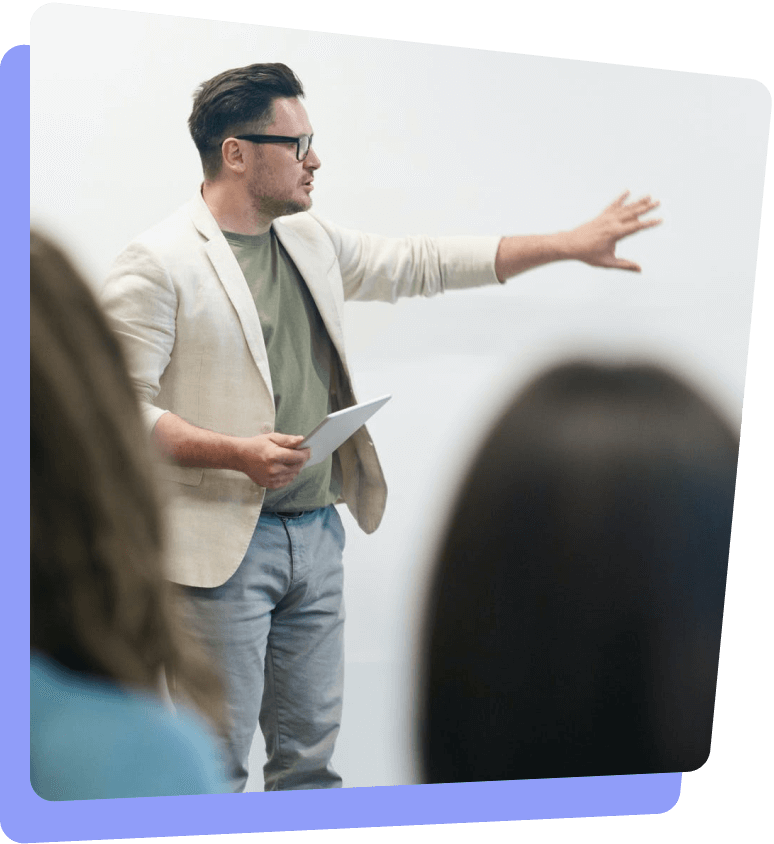 Soft + technical skills training