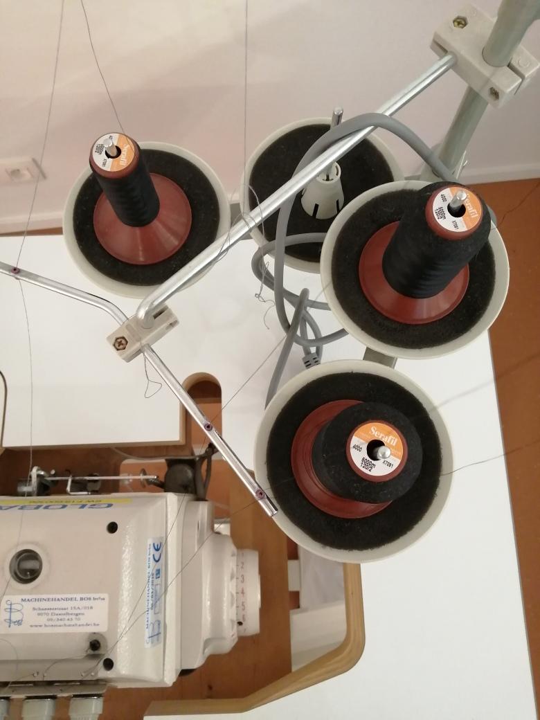 Kontoer Turnhout retouches bovenaanzicht lockmachine