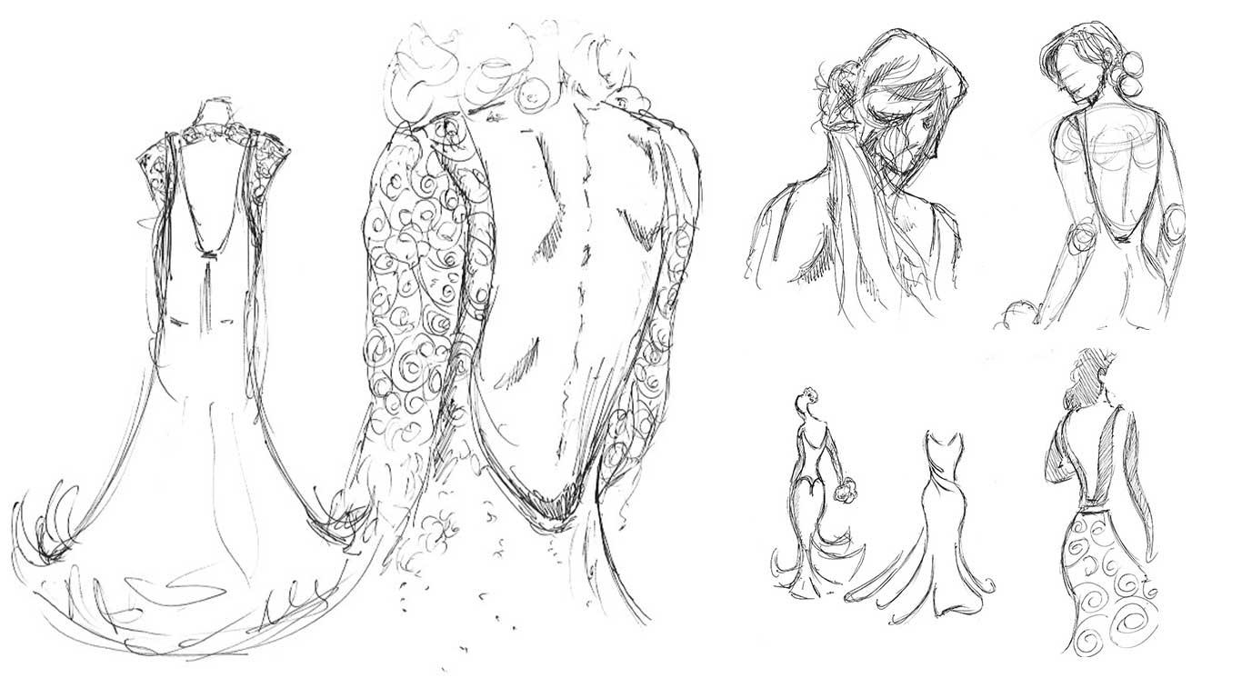 Miss Scarlett sketches