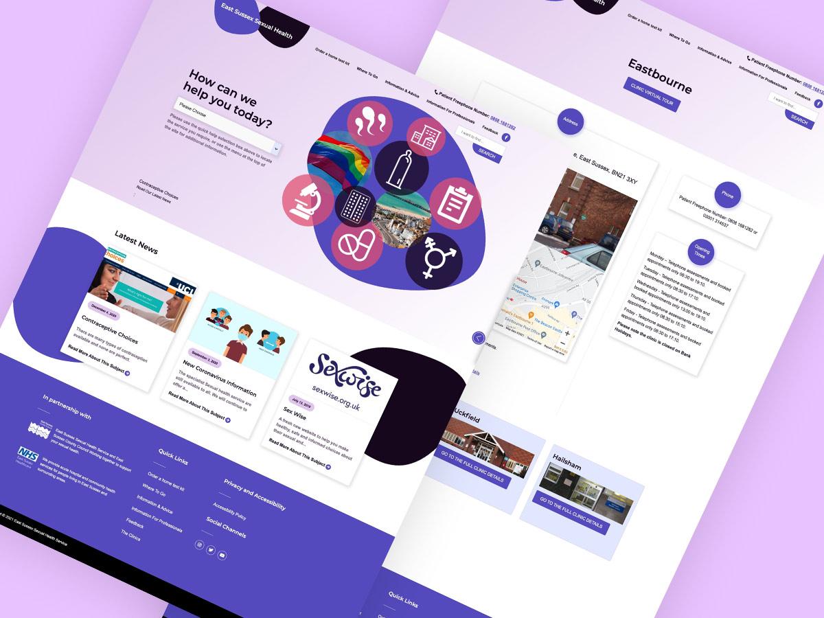 website portfolio graphic