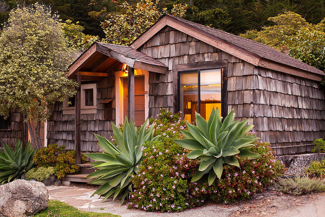 Accommodations at Esalen are rustic.