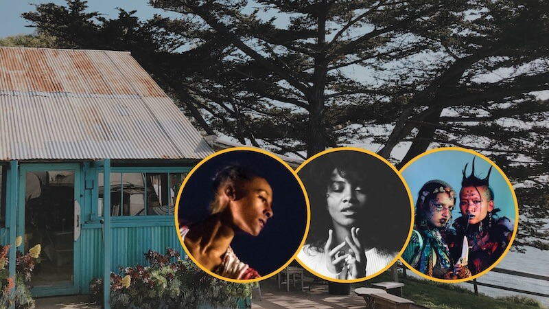 Esalen welcomes Jazsamyn, Coral Martin, and mirrored fatality as Artists in Residence