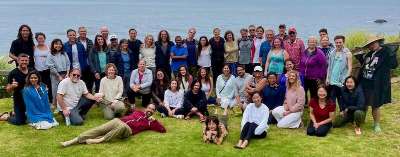 Ira Israel's July 2021 Workshop Group Photo at Esalen