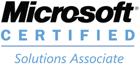 Microsoft Solutions Associate Badge