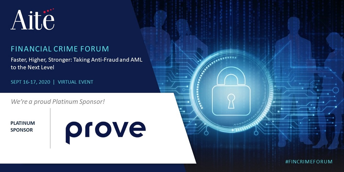 Join Prove at Aite Financial Crime Forum 2020