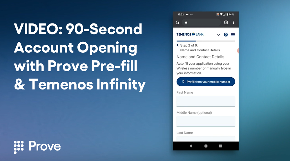 VIDEO: 90-Second Account Opening - How to Expedite Onboarding with Phone-Centric Identity