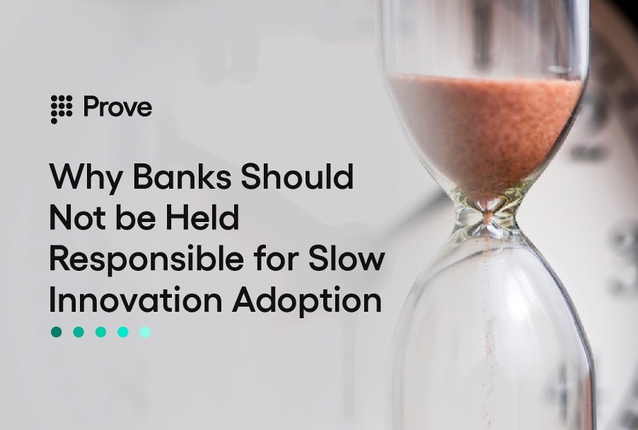 Why Banks Should Not be Held Responsible for Slow Innovation Adoption