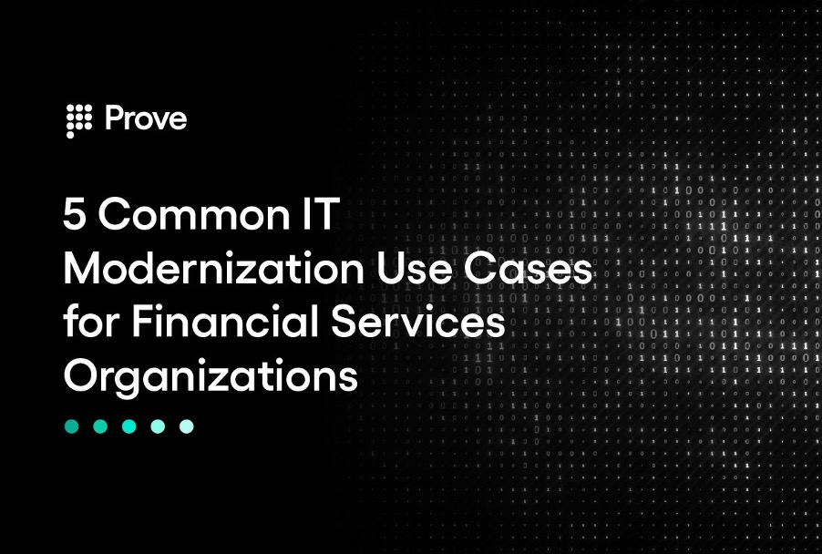 5 Common IT Modernization Use Cases for Financial Services Organizations