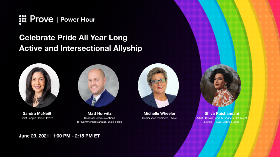 Prove Power Hour | Celebrate Pride All Year Long - Active and Intersectional Allyship