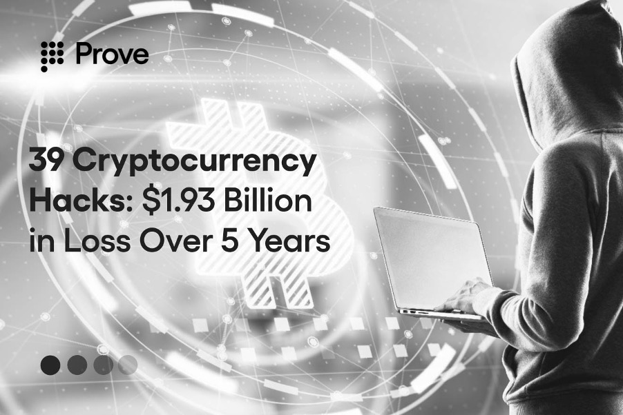 39 Cryptocurrency Hacks: $1.93 Billion in Loss Over 5 Years