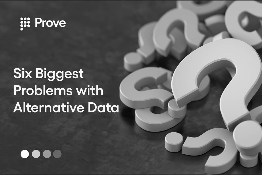 Six Biggest Problems with Alternative Data