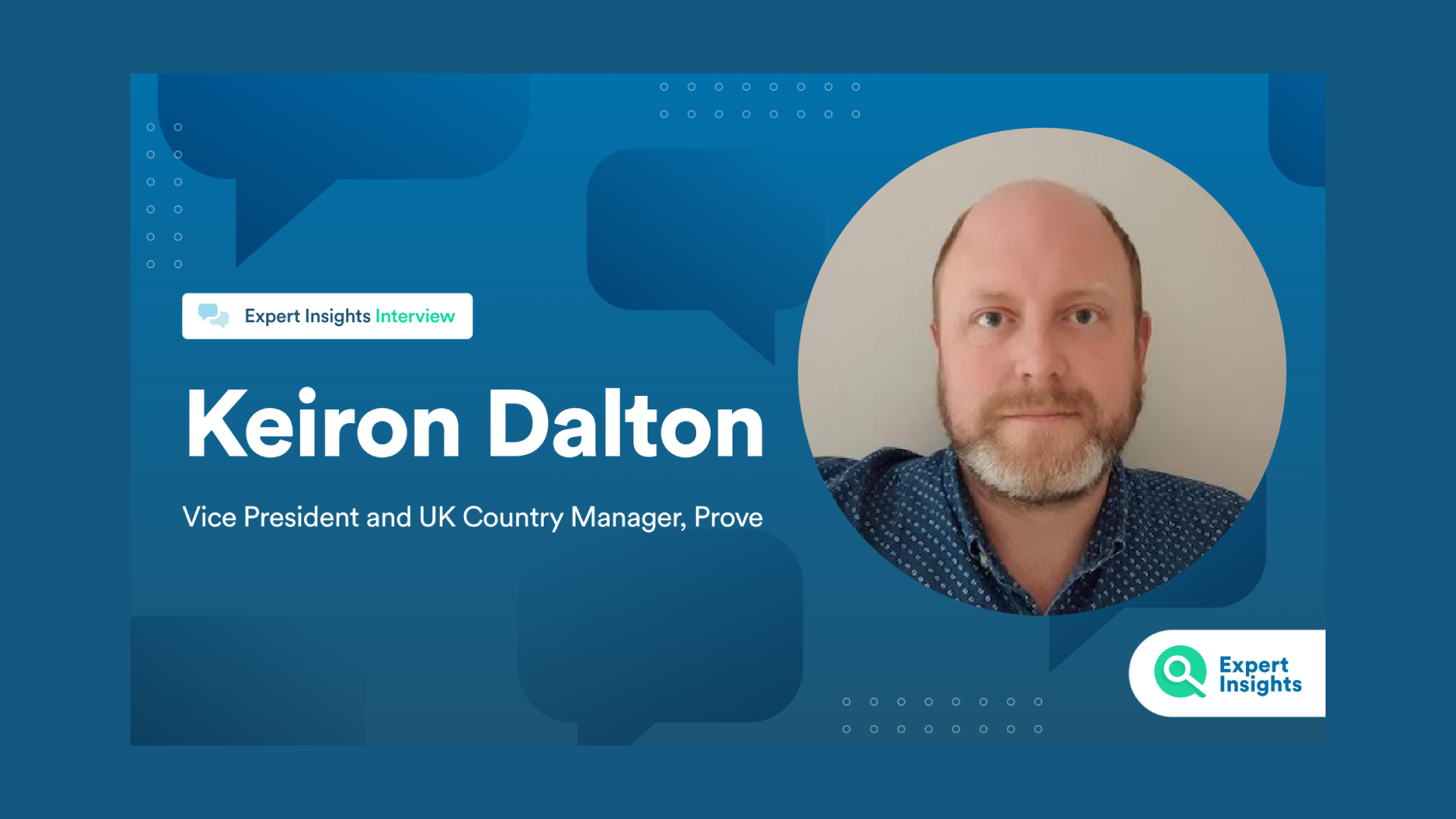 """Keiron Dalton: """"It's difficult to establish trust without something ubiquitous. That's why we look at the phone."""""""