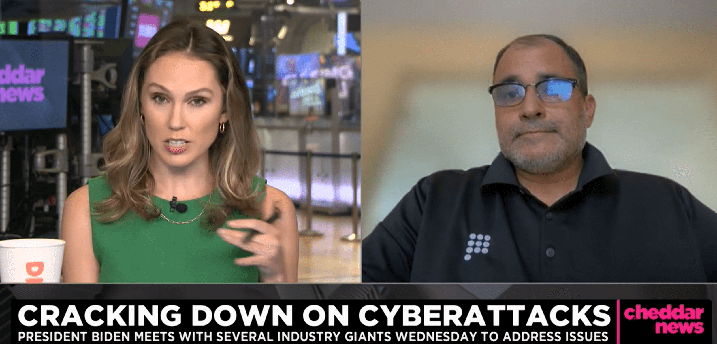 """Prove CEO Rodger Desai on Cheddar News: """"To prevent cyberattacks, it's vital that we work together across industries"""""""