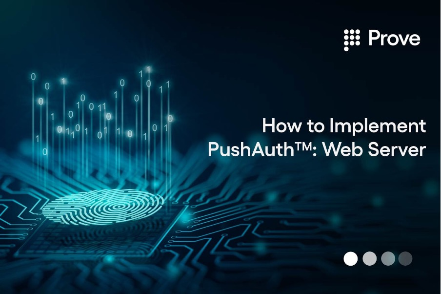 How to Implement PushAuth™: Web Server