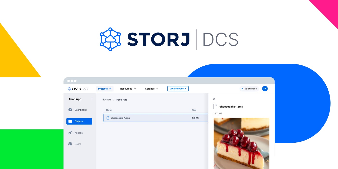 Introducing Storj DCS—Decentralized Cloud Storage for Developers