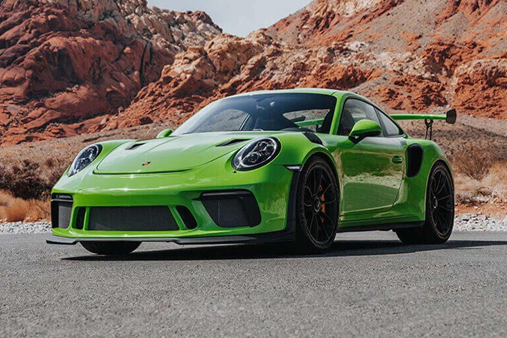 las-vegas > drive > car-rental > porsche-911-gt3-rs-green