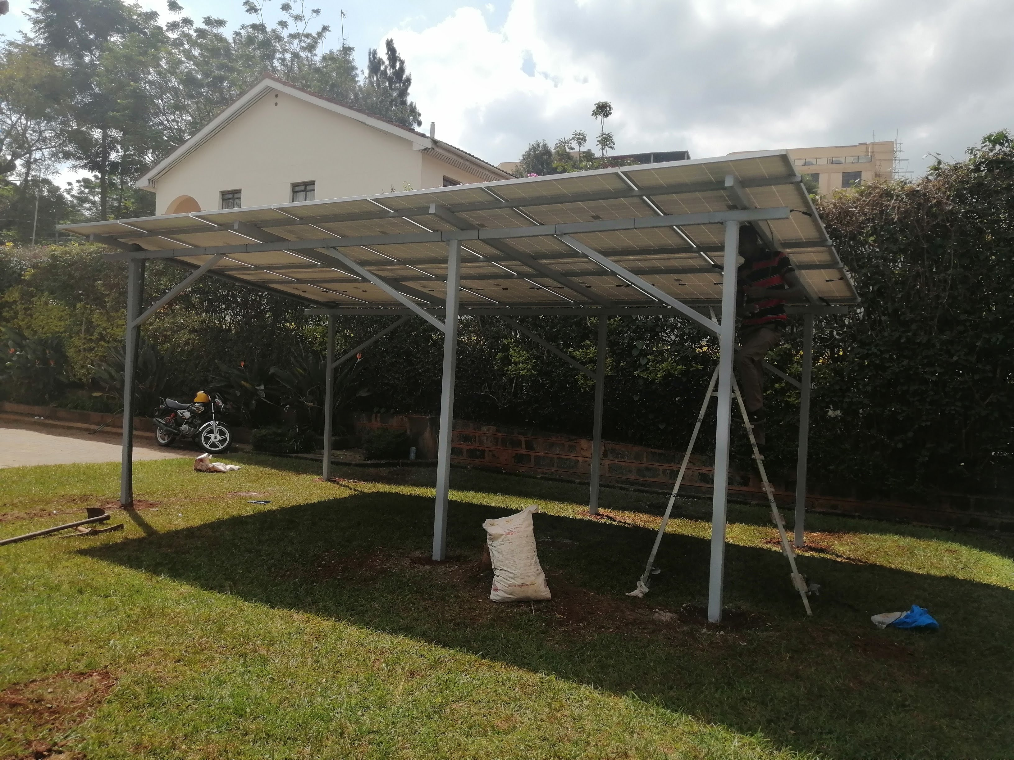 Solar systems and energy storage for reliable, affordable home power supply