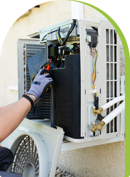 Replacement air conditioners or central AC systems are more energy efficient