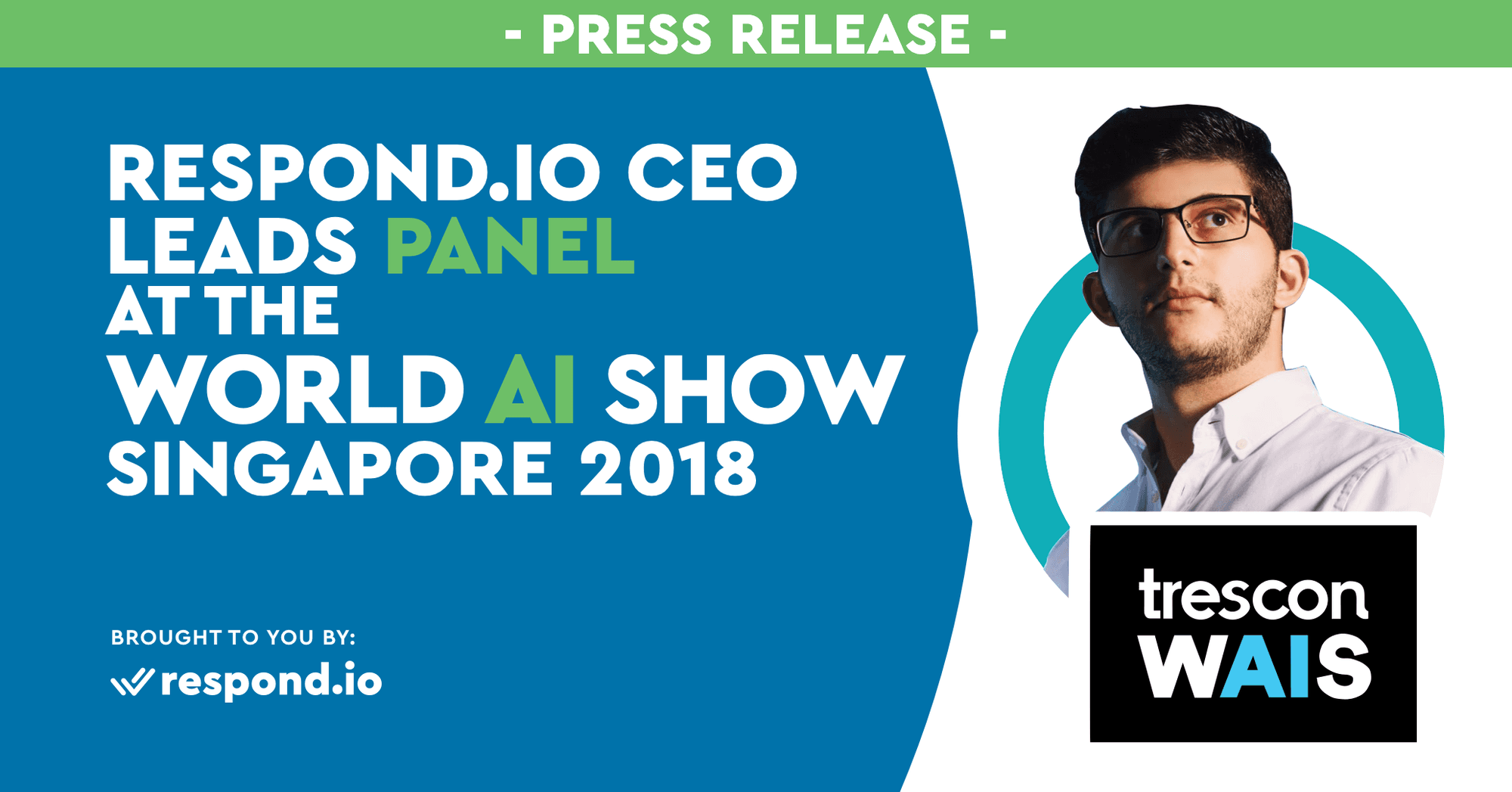 Respond.io CEO Leads Panel at the World AI Show Singapore 2018