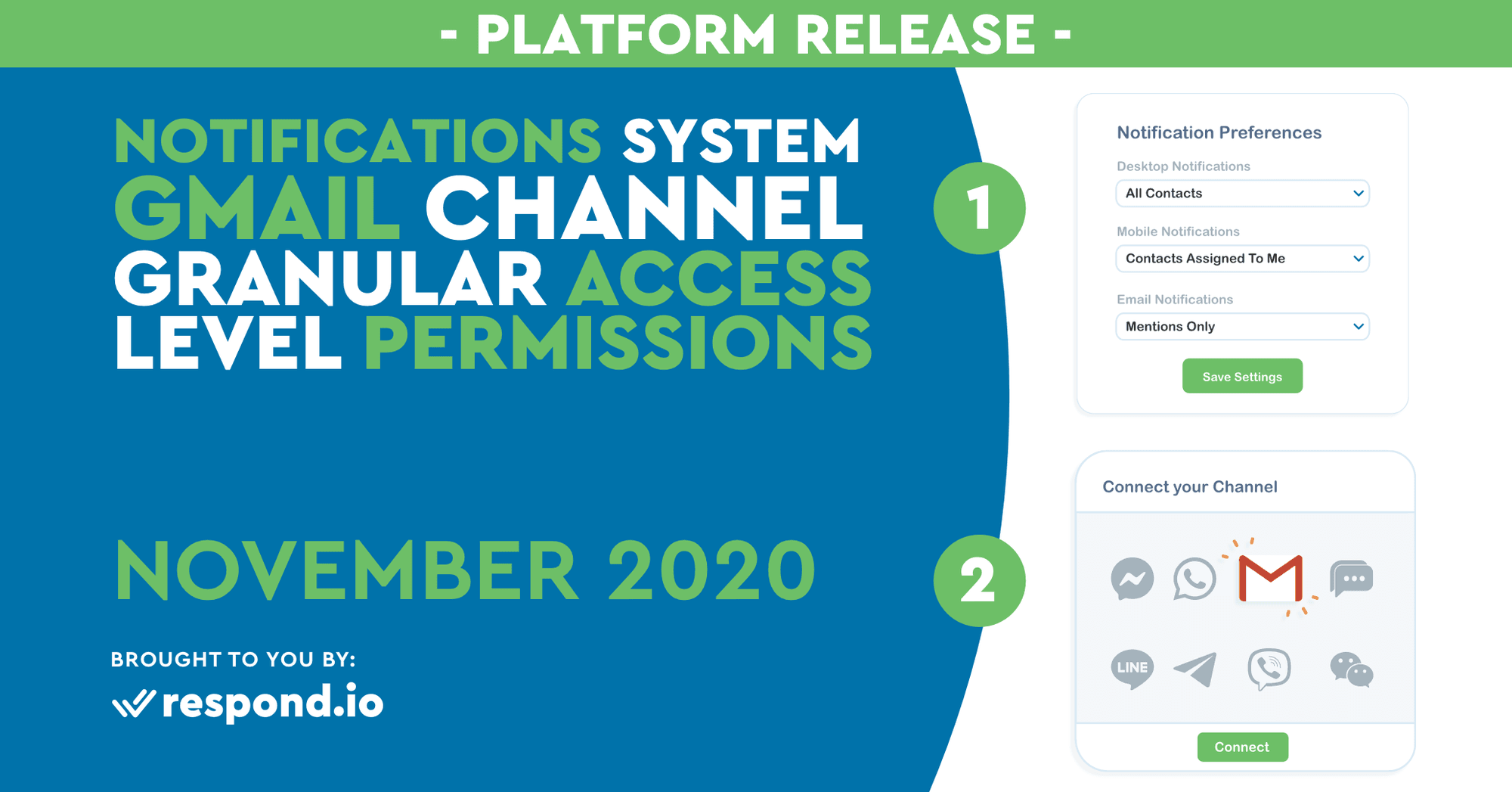 The November 2020 Release - New Notification System, G Suite Channel Integration & Access Level Changes