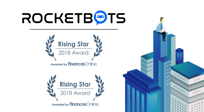 Rocketbots Recognized by FinancesOnline as Outstanding Customer Support Software