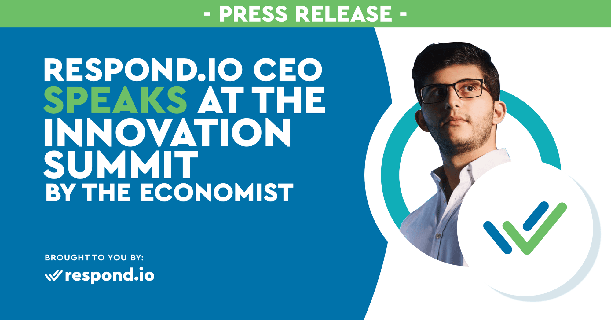 Rocketbots CEO Speaks at the Innovation Summit by The Economist