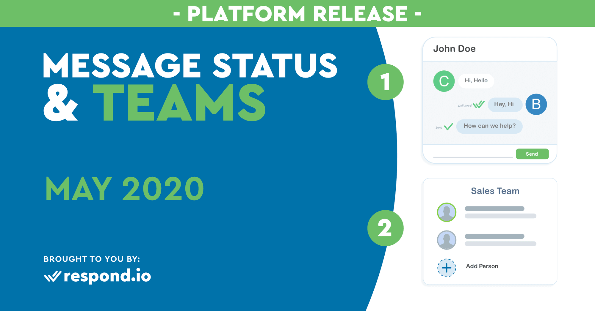 The May 2020 Release - Message Status & Teams