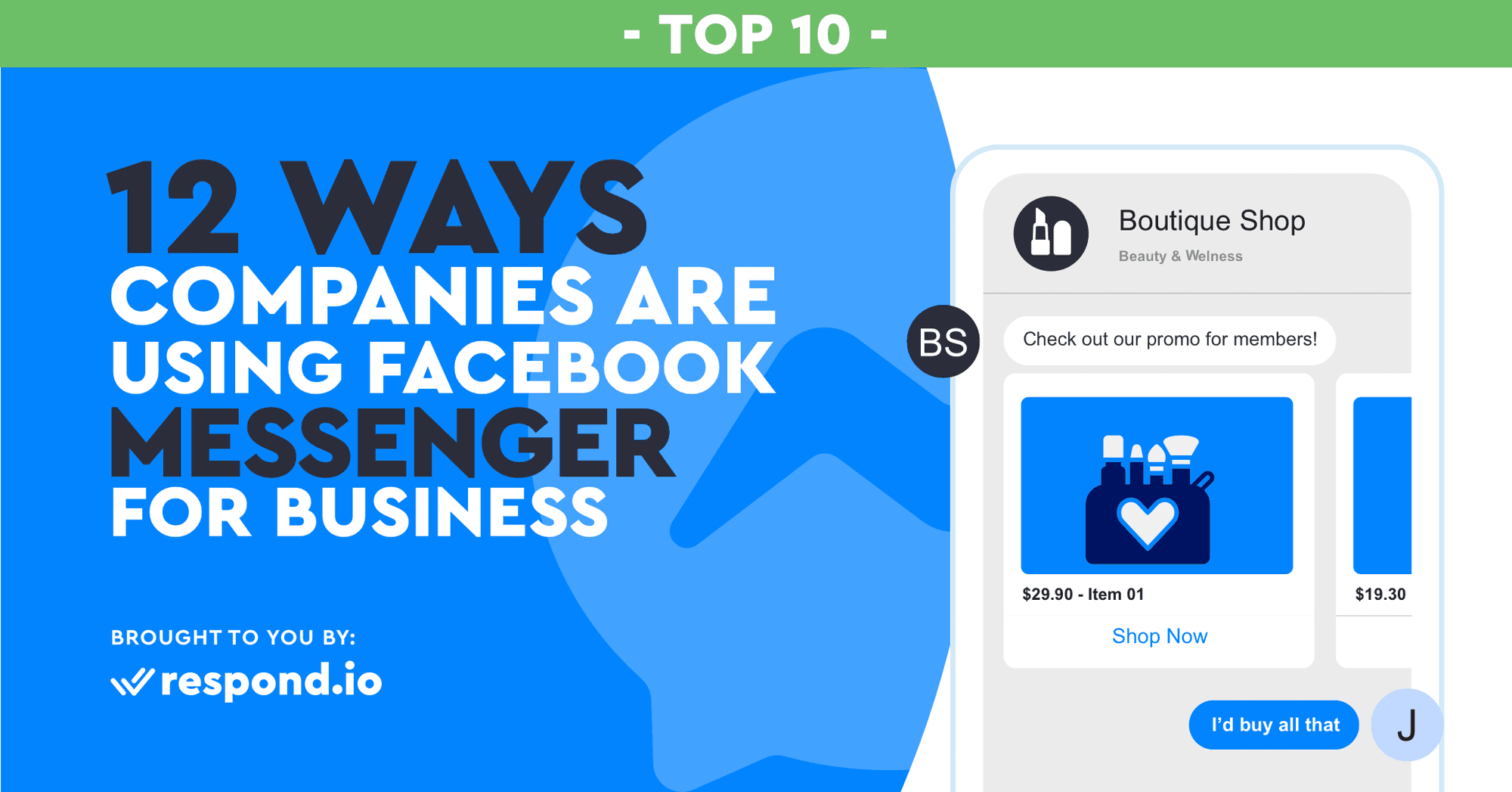 12 Ways Companies Are Using Facebook Messenger for Business (May 2019)