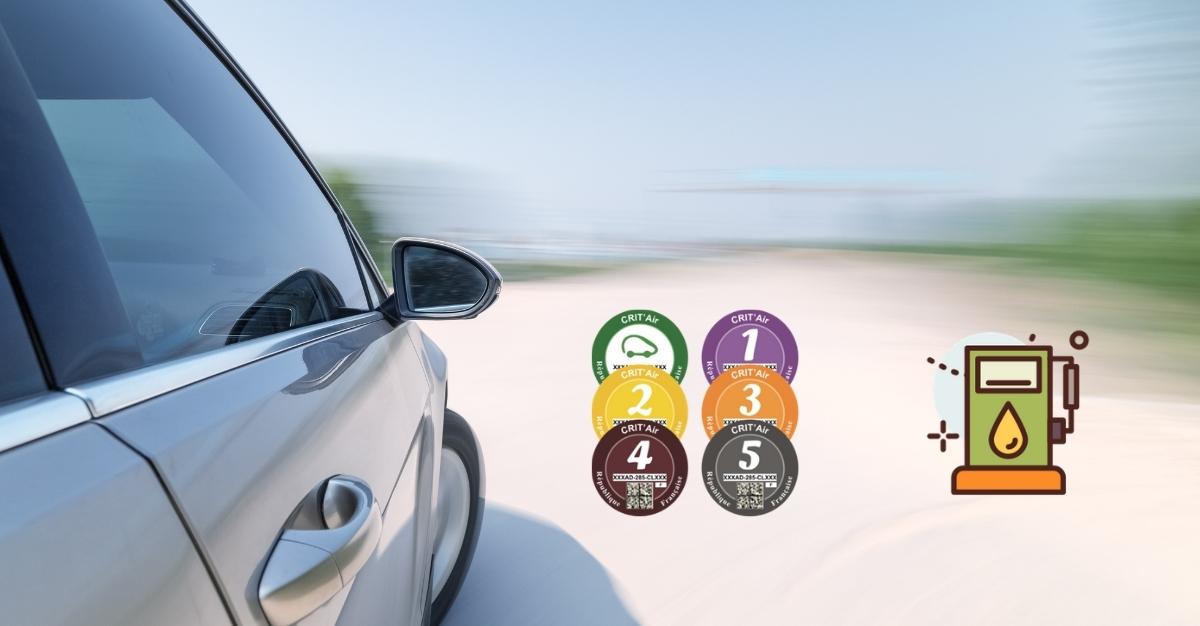 La vignette Crit'Air pour les véhicules diesel