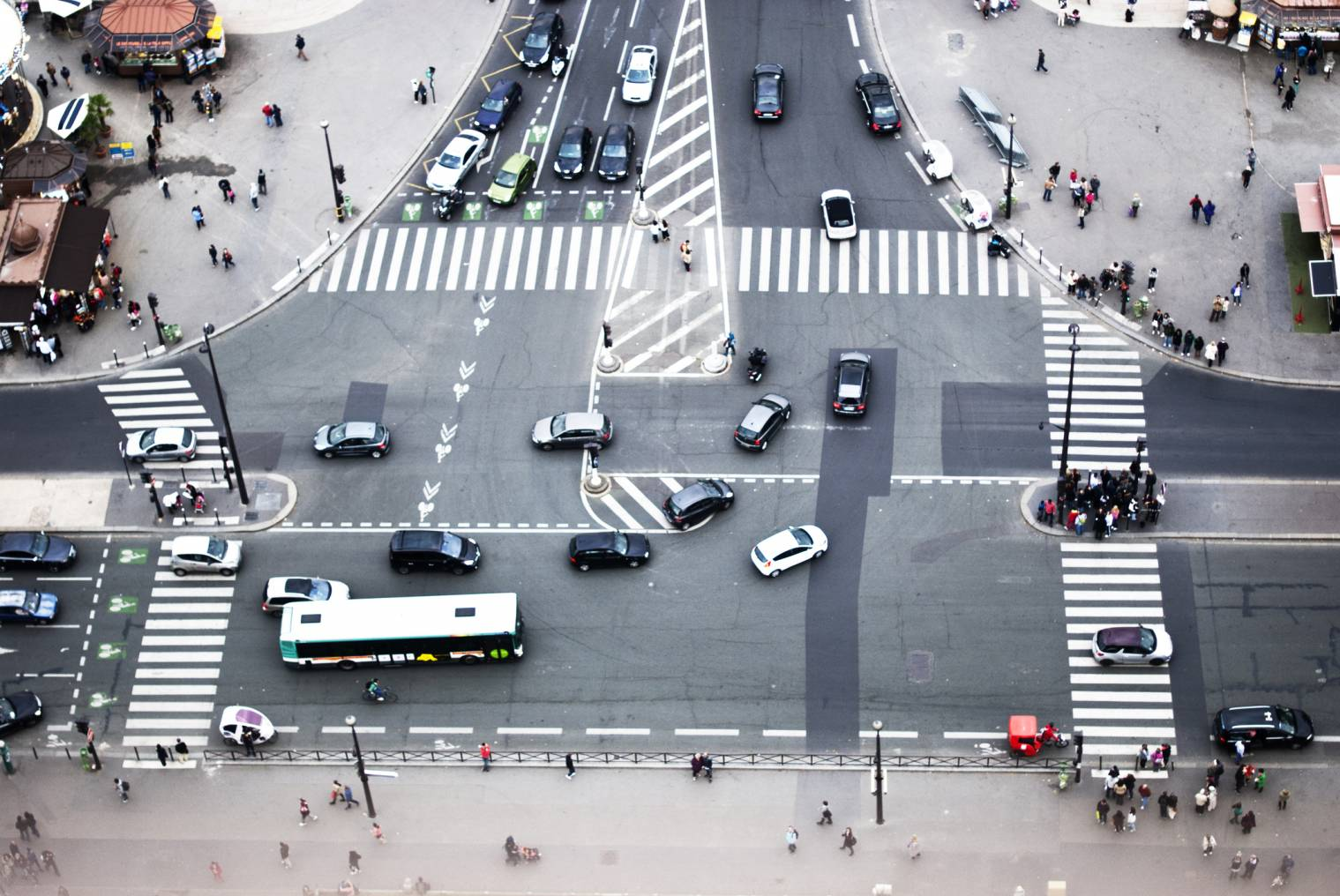 véhicules autorisés à circuler dans Paris