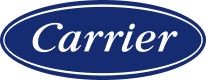 A logo for the Carrier Corporation